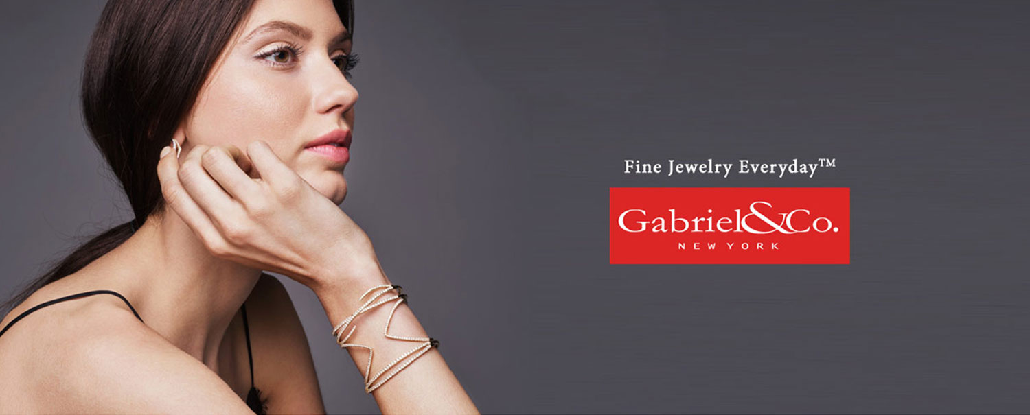 Gabriel and Co Diamond Bracelets at hinz Jewelers